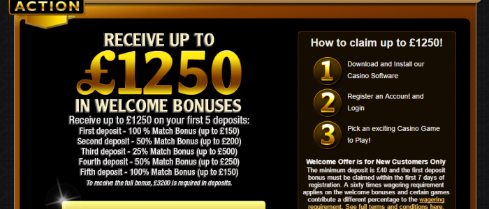 Casino Action for the Microgaming fans